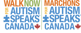 Walk Now for Autism Speaks Canada logo