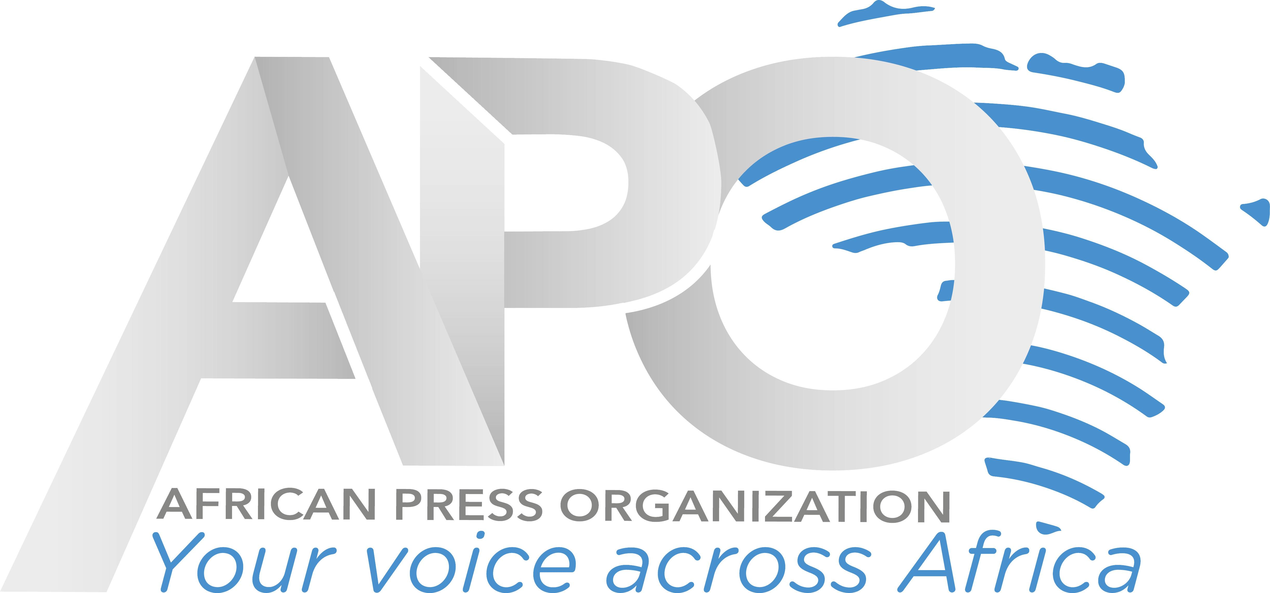 APO (African Press Organization) logo