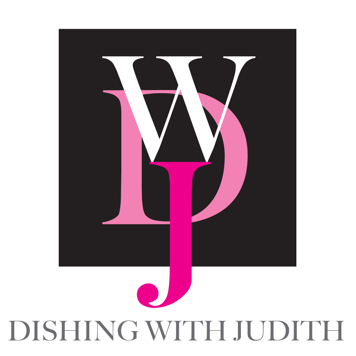 Dishing With Judith Logo