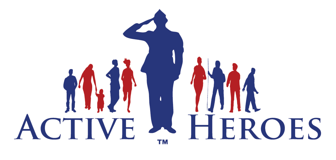 Houston Chapter of Active Heroes Logo