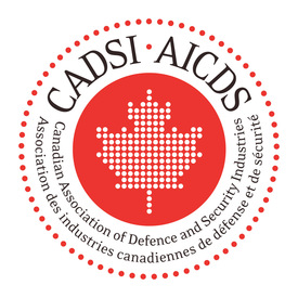 Canadian Association of Defence and Security logo