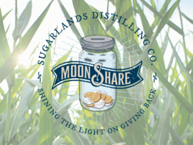 MoonShare Logo with plants