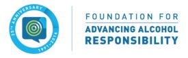 Foundation for Advancing Alcohol Responsibility logo